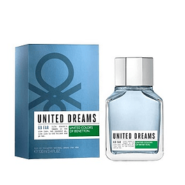 Perfume Benetton United Dreams Go Far Hombre Edt 100 ml