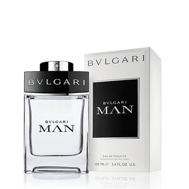 Perfume Bvl Man (Blanco) Hombre Edt 100 ml