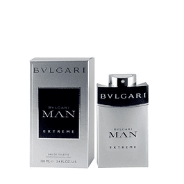 Perfume Bvl Man Extreme (Gris) Hombre Edt 100 ml