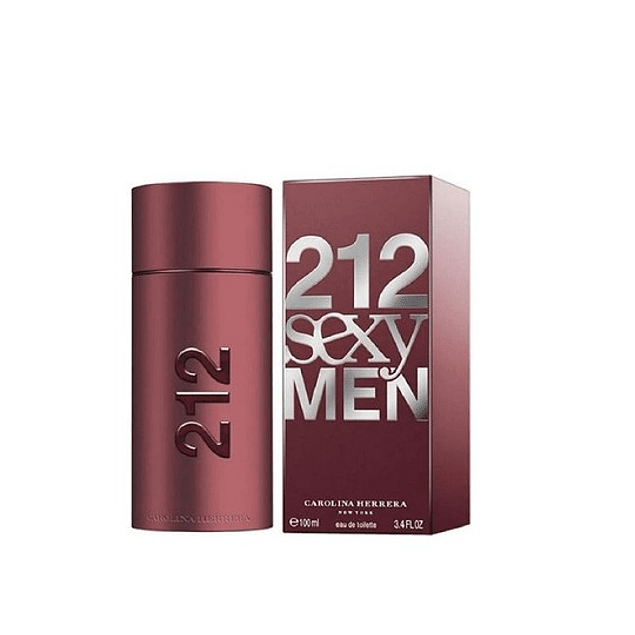 Perfume 212 Sexy Varon Edt 100 ml