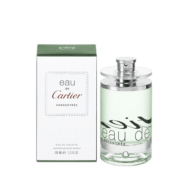 Perfume Eau De Cartier Concentre Unisex Edt 100 ml