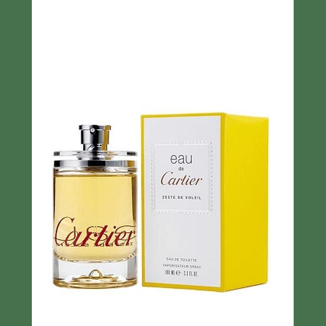 Perfume Eau De Cartier Zeste De Soleil Varon Edt 100 ml