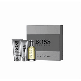 Perfume Boss Bottle N° 6 (Gris) Varon Edt 100 ml Estuche