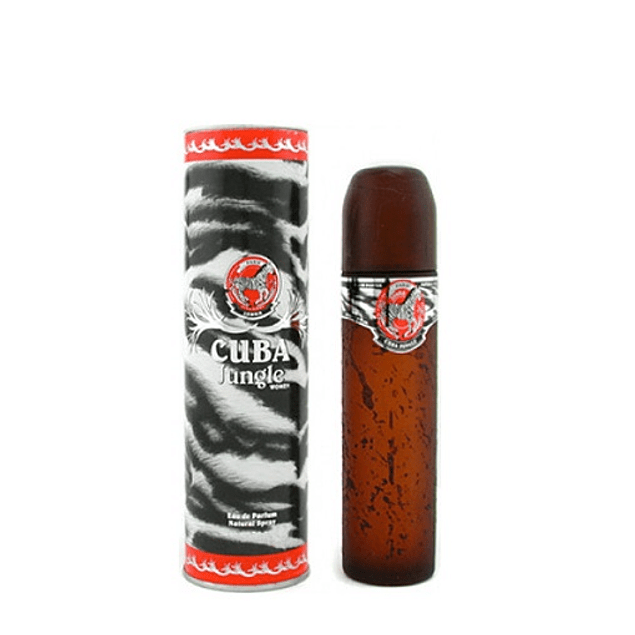 Perfume Cuba Jungle Zebra Dama Edp 100 ml