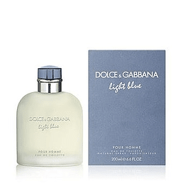 Perfume Light Blue Hombre Edt 200 ml