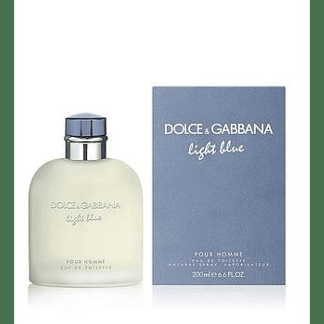 Perfume Light Blue Hombre Edt 200 ml
