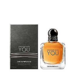 Perfume Stronger With U Armani Hombre Edt 100 ml