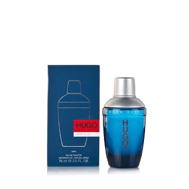 Perfume Dark Blue Hombre Edt 75 ml