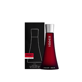 Perfume Hugo Deep Red Dama Edp 90 ml
