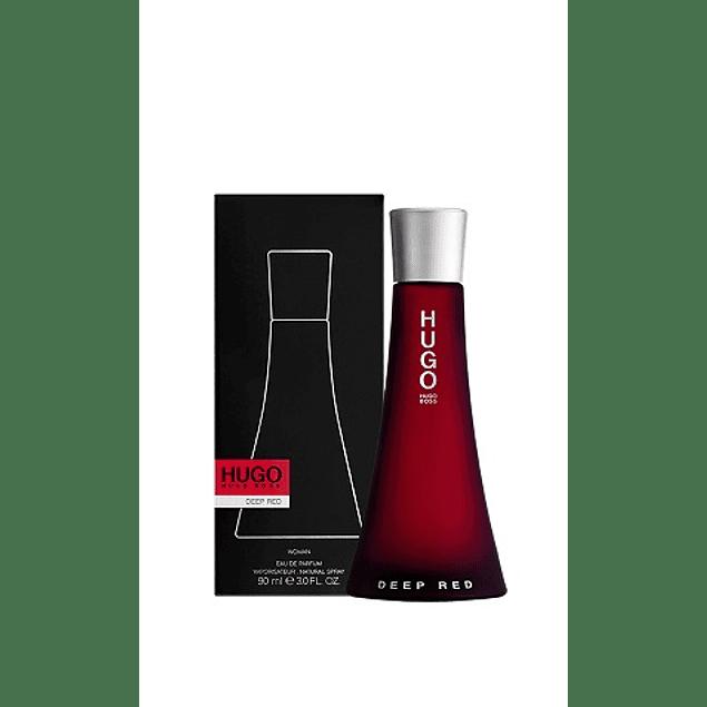 Perfume Hugo Deep Red Mujer Edp 90 ml