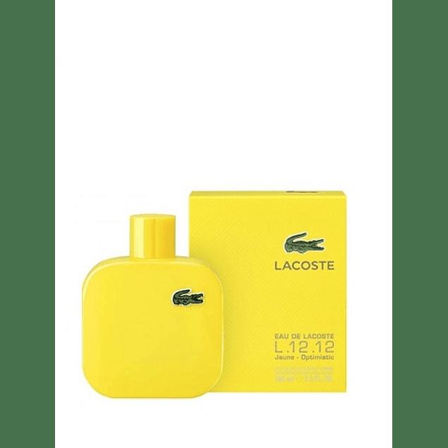 Perfume Lacoste Jaune Hombre Edt 100 ml