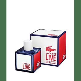 Perfume Lacoste Live Hombre Edt 100 ml