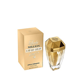 Perfume Lady Million Eau My Gold Mujer Edt 80 ml