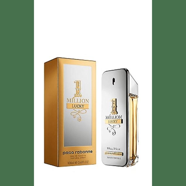 Perfume One Million Lucky Hombre Edt 100 ml