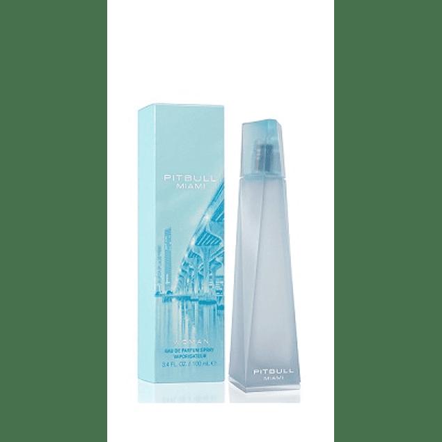 Perfume Pitbull Miami Mujer Edp 100 ml