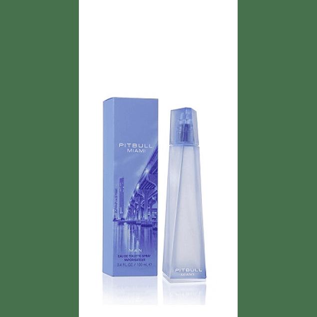 Perfume Pitbull Miami Hombre Edt 100 ml