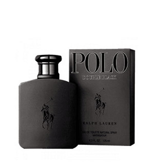 Perfume Polo Double Black Hombre Edt 125 ml