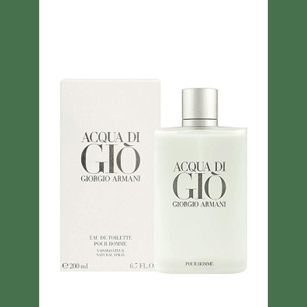 Perfume Acqua Di Gio Hombre Edt 200 ml