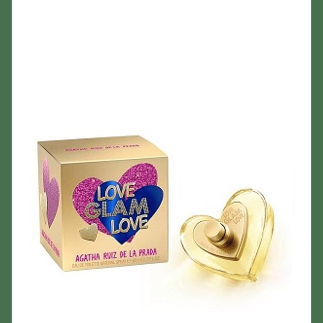 PERFUME LOVE GLAM LOVE MUJER EDT 80 ML