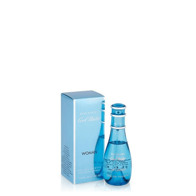 Perfume Cool Water Mujer Edt 30 ml