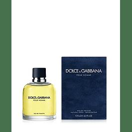 Perfume Dolce Gabbana Pour Homme Hombre Edt 125 ml