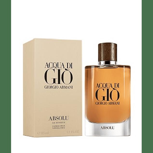 Perfume Acqua Di Gio Absolu Hombre Edp 125 ml