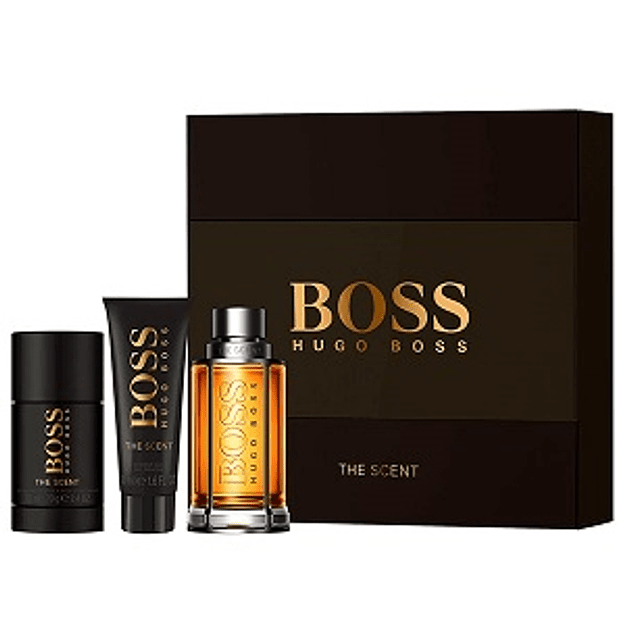 Perfume Boss The Scent Varon Edt 100 ml Estuche