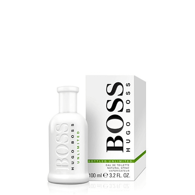 Perfume Boss Unlimited (Blanco) Hombre Edt 100 ml