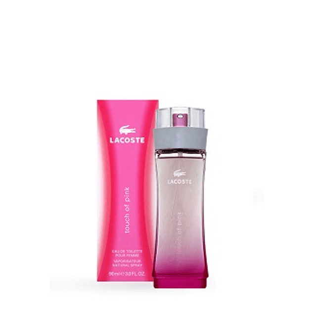PERFUME TOUCH OF PINK DAMA EDT 90 ML