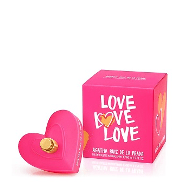 Perfume Love Love Love Dama Edt 80 ml
