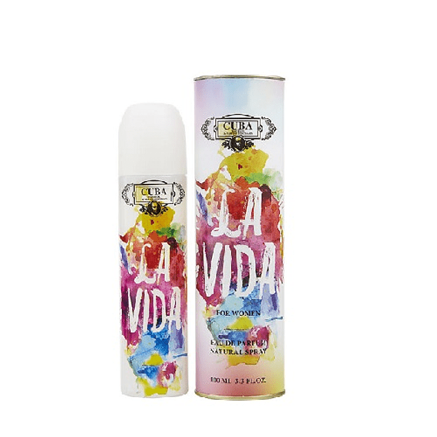 Perfume Cuba La Vida Mujer Edp 100 ml