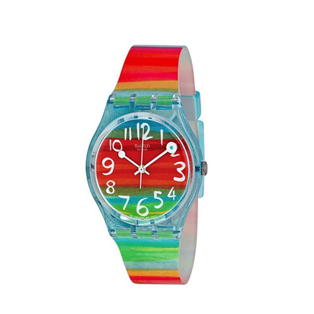Reloj Swatch Gs124 Mujer Color The Sky