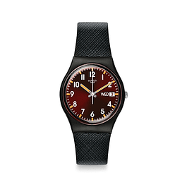 Reloj Swatch Gb753 Hombre Sir Red Original