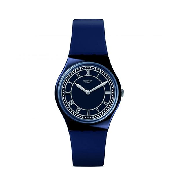 Reloj Swatch Gn254 Hombre Blue Ben Original