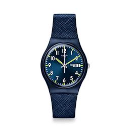 Reloj Swatch Gn718 Mujer Sir Blue