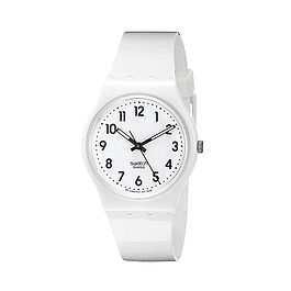 Reloj Swatch Gw1510 Mujer Just White Soft