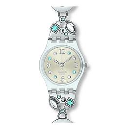 Reloj Swatch Lk292G Mujer Menthol Tone