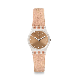 Reloj Swatch Lk354D Mujer Pinkindescent Too