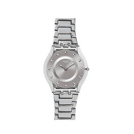 Reloj Swatch Sfk393G Mujer Silver Drawer Skin
