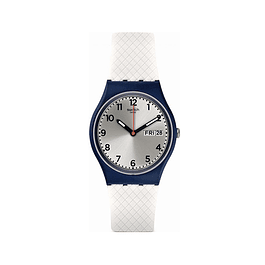 Reloj Swatch Gn720 Mujer White Delight