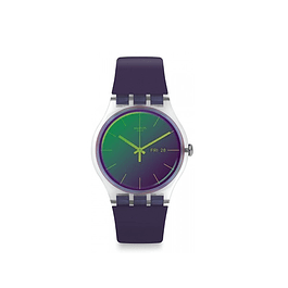 Reloj Swatch Suok712 Mujer Pola Purple