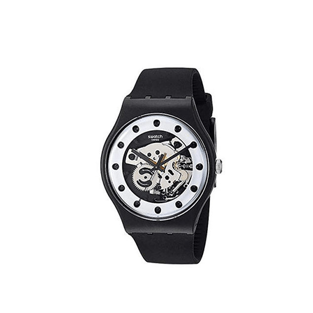 Reloj Swatch Suoz147  Silver Glam
