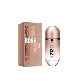 Perfume 212 Vip Rose Dama Edp 80 ml