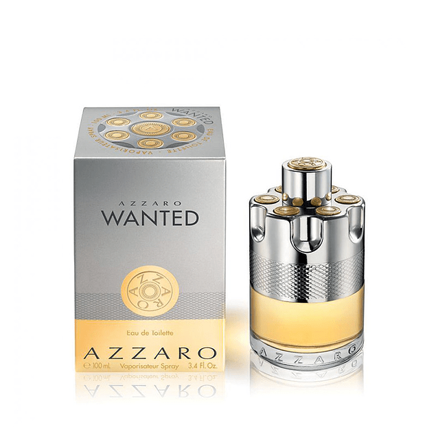 Perfume Azzaro Wanted Varon Edt 100 ml