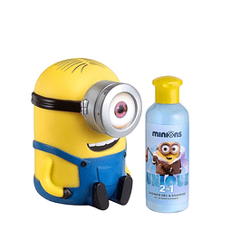 Gel De Ducha Minions Unisex Shower Gel 200 ml + Alcancia Estuche
