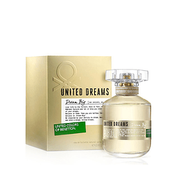 Perfume Benetton United Dream Big Dama Edt 80 Ml