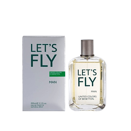Perfume Benetton United Dreams Lets Fly Hombre Edt 100 Ml