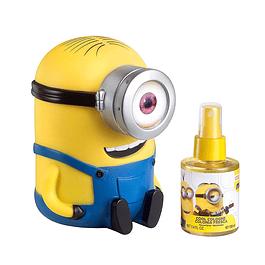 Perfume Minions Unisex Edc 100 ml + Alcancia Estuche