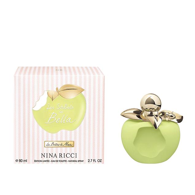 Perfume Nina Bella Les Sorbets Verde Mujer Edt 80 ml