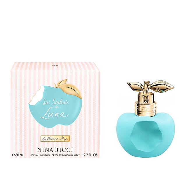 Perfume Nina Luna Les Sorbets Celeste Mujer Edt 80 ml
